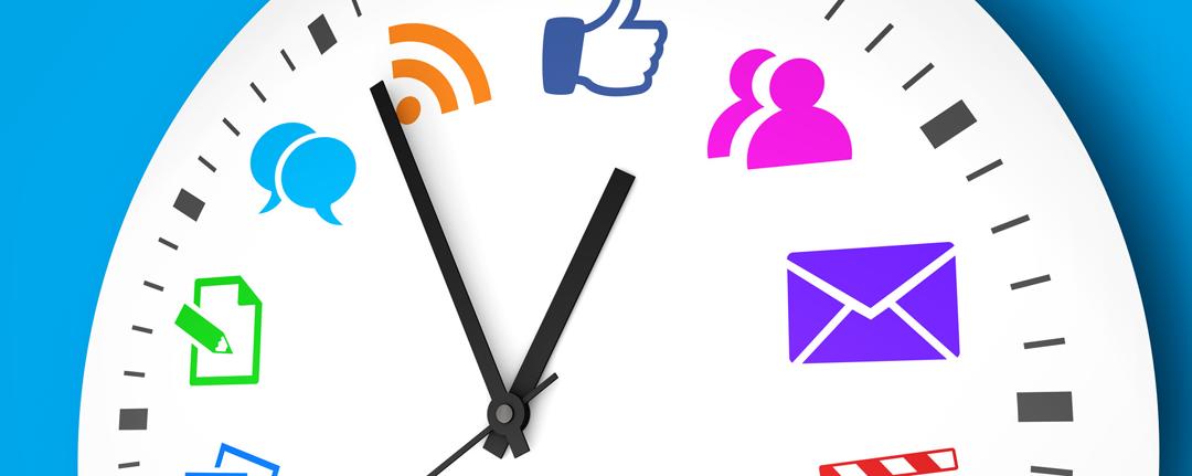 A quel moment poster sur les réseaux sociaux ?